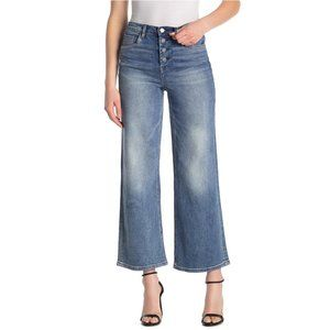 Blank NYC The Chrystie High-rise Cropped Wide Leg